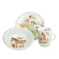 Сервиз детский 3 предета Mein Pony Seltmann Weiden (кружка, тарелка 20 см, салатник 16 см)