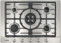 Газовая панель конфорок Miele KM2034 сталь